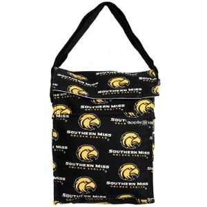 Miss Golden Eagles Black Lunch Tote