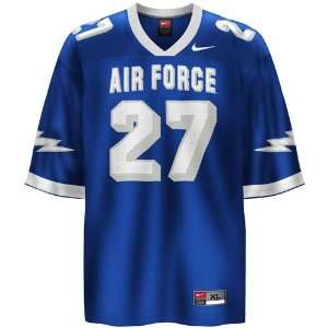 Nike Air Force Falcons #27 Royal Blue Youth Replica