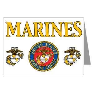 Greeting Card Marines United States Marine Corps Seal