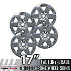 2008 2010 Grand Cherokee 17 Chrome Wheel Skins Covers