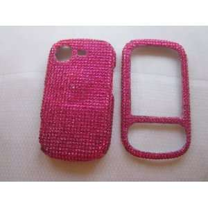Hot Pink BLING COVER CASE SKIN 4 SAMSUNG STRIVE A 687