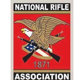 NRA NATIONAL RIFLE ASSOCIATION CAR WINDOW STICKER DECAL