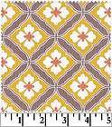 Asian Tiles in Yellow & Taupe, Emperors Garden, Japan Asian Gray White