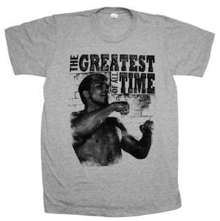 Muhammad Ali Greatest Of All Time Boxing T Shirt Tee