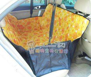 Safety Waterproof Hammock Dog Car Seat Cover  B coffee
