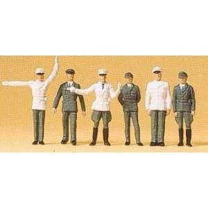 POLICEMEN   PREISER HO SCALE MODEL TRAIN FIGURES 14146 Toys & Games