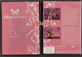 Girl Fitness Chair Fit DVD Workout + Meal Guide + 2 LBS Gel Balls NEW