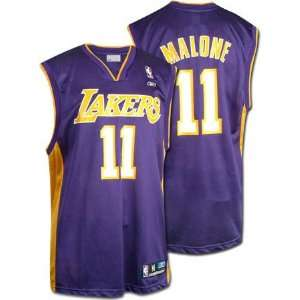 Karl Malone Reebok NBA Replica Los Angeles Lakers Toddler Jersey