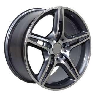 17 Rims Fit Mercedes AMG Wheel Gunmetal 17 x 8