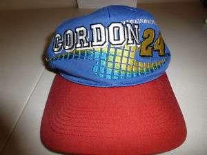 VINTAGES JEFF GORDON # 24 CAP SNAP TYPE ADJUSTMENT