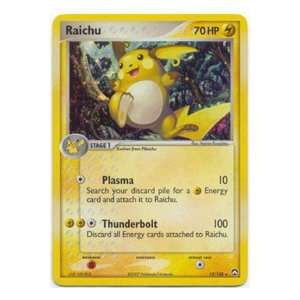 Pokemon Ex Power Keepers Foil Rare Raichu 12/108: Toys