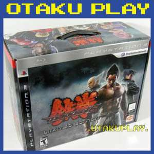 TEKKEN 6 LIMITED EDITION WIRELESS BUNDLE PS3 NEW HORI