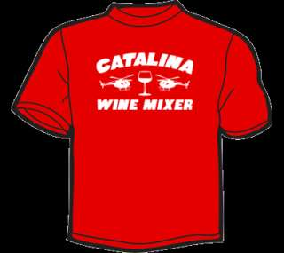 CATALINA WINE MIXER T Shirt WOMENS funny step brothers