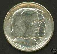 1936 Long Island Half Dollar Commemorative Coin