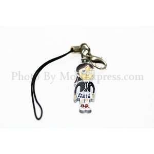 Charm Strap with Mini Snap Hook   Margo: Cell Phones & Accessories
