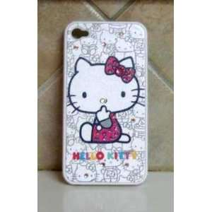 HELLO KITTY IPHONE CASE IPHONE 4G CASE W/ SWAROVSKI BLING