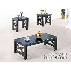 Acme Furniture Coffee End Table 3 piece 06176 set: Home