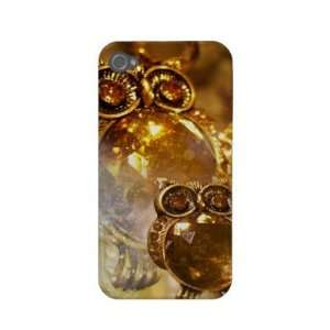 Golden Owls iPhone 4 Case Barely There Electronics