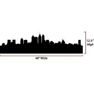 Skyline Silhouette  Large  Vinyl Wall Decal