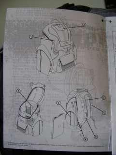 PANEL PACK 15 Laptop Backpack Black Bag THE BOOK OF ELI MOVIE