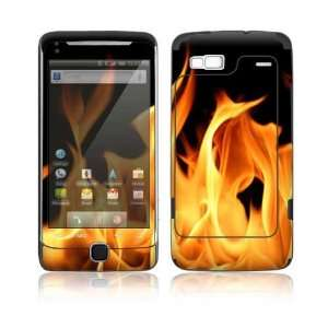 Flame Design Decorative Skin Cover Decal Sticker for HTC