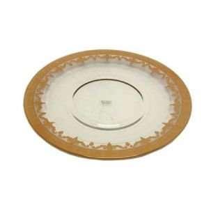 Arte Italica Vetro Gold Dinner Plate Dinnerware