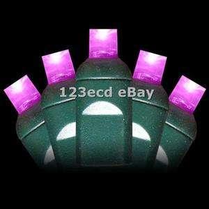 Pink LED Wide Angle Christmas Lights 5mm Led lights Conical Christmas