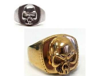 RING BIKER SAMCRO GOLD sons of anarchy BABY RING SILVER Black KING