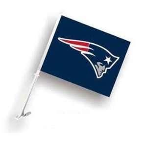 New England Pats Patriots Car/Truck Window Flag Sports