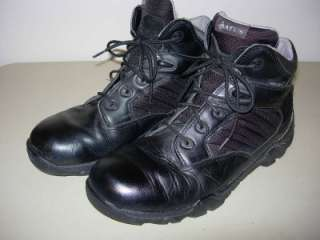 Mens 12 BATES GX4 GTX GORE TEX Black BOOTS Leather & Nylon Light Tough