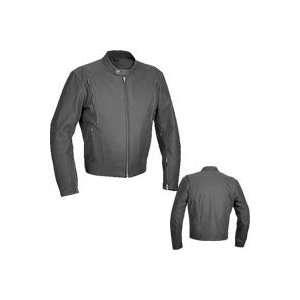 River Road Alloy Vented Matte Black Jacket 44 Automotive