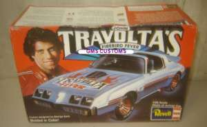 Revell Model Kit John Travoltas Firebird Fever 1/25