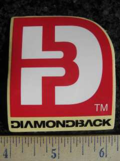 DIAMONDBACK Road Tri Mountain Bike Frame Sticker Decal