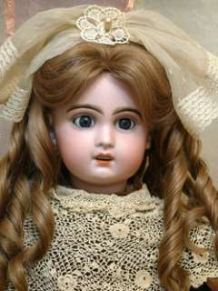 24 JUMEAU BEBE ANTIQUE FRENCH DOLL WITH RARE SLEEP EYES GREAT