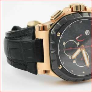 TB Buti Magnum Sport Limited Edition 18k Rose Gold Automatic Mens