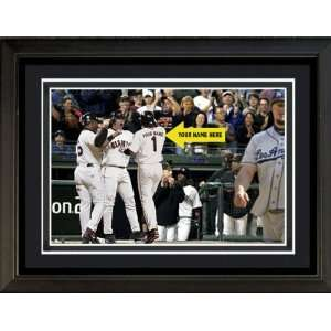 San Francisco Giants Personalized Print with YOUR NAME   12.5x16