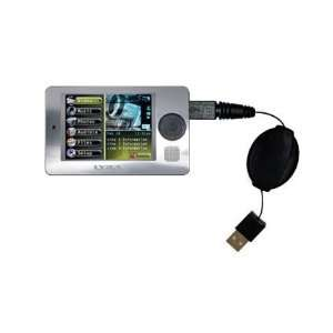 Retractable USB Cable for the RCA X3000 LYRA Media Player