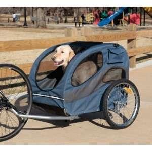 Solvit 62341 HoundAbout Bicycle Pet Trailer, Large