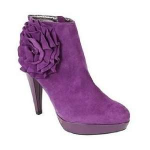 Steve Madden Peonny High heel suede leather ankle boot