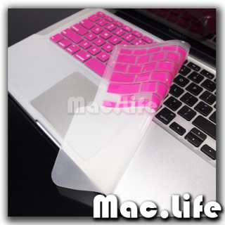 FULL PINK Keyboard Skin Cover Case for Macbook Pro 13