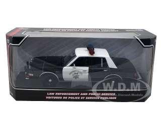 of 1986 Dodge Diplomat California Highway Patrol Car CHP by Motormax