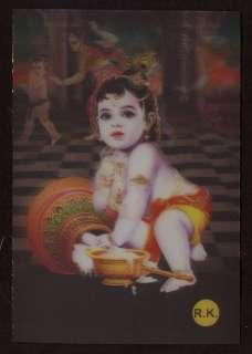 India 3D Bal Gopal Yashoda God Goddess Religion Hindu Mythology Temple