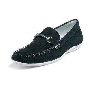 Stacy Adams Smitty Mens Loafer Slip On Black Suede24662