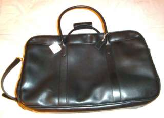 Black Leather Duffle Bag NEW WITH TAGS  Retail Price $698.00