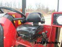 Case International 595 Diesel Farm Tractor With Canopy