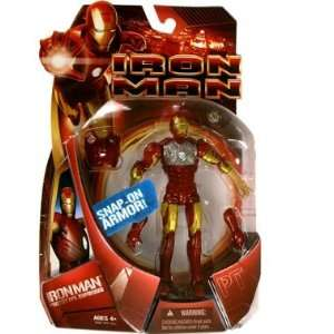 Iron Man Movie Wave 1 Iron Man Prototype (Mask On) Variant Action