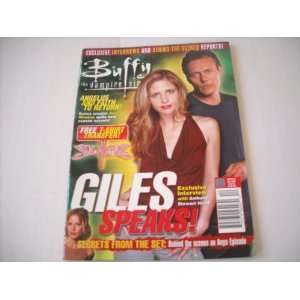 Buffy the Vampire Slayer Official Magazine Issue #1