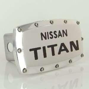 Nissan Titan Logo Tow Hitch Cover Automotive