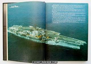 USS SARATOGA CV 60 MEDITERRANEAN CRUISE BOOK 1976