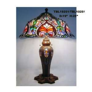 Tiffany Style Stained Glass Table Desk Lamp T1951 Office